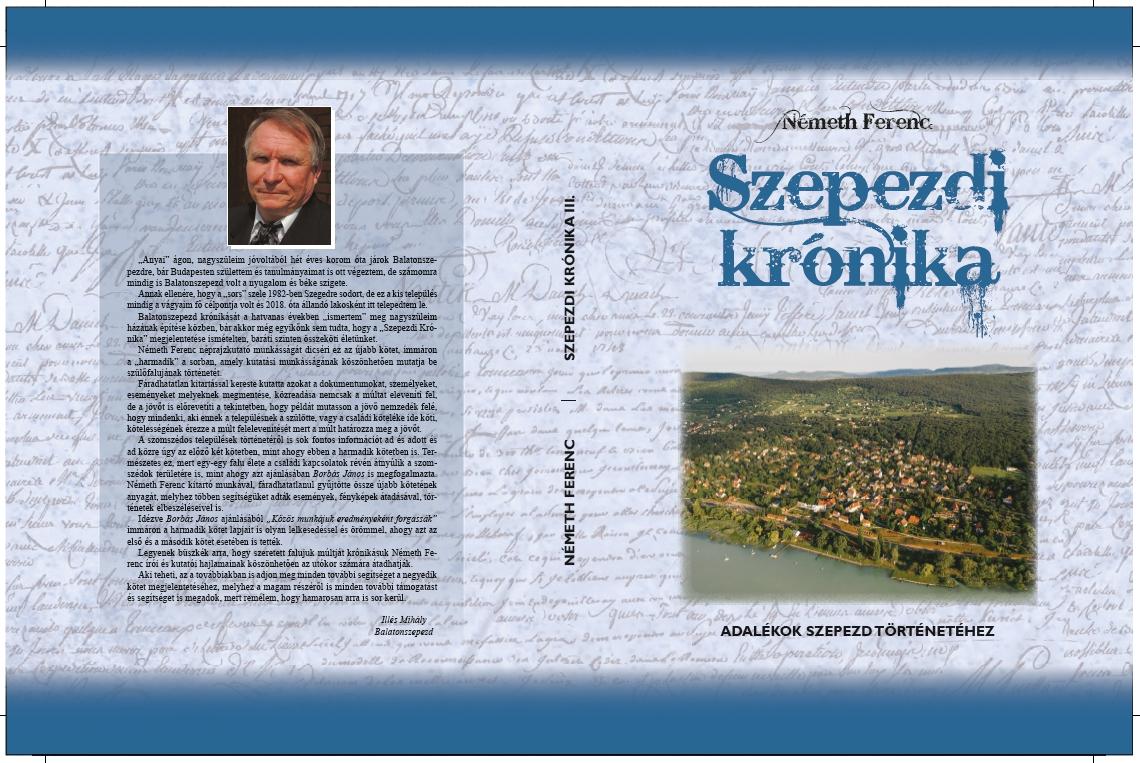 A Szepezdi Krónika borítója - 2019
