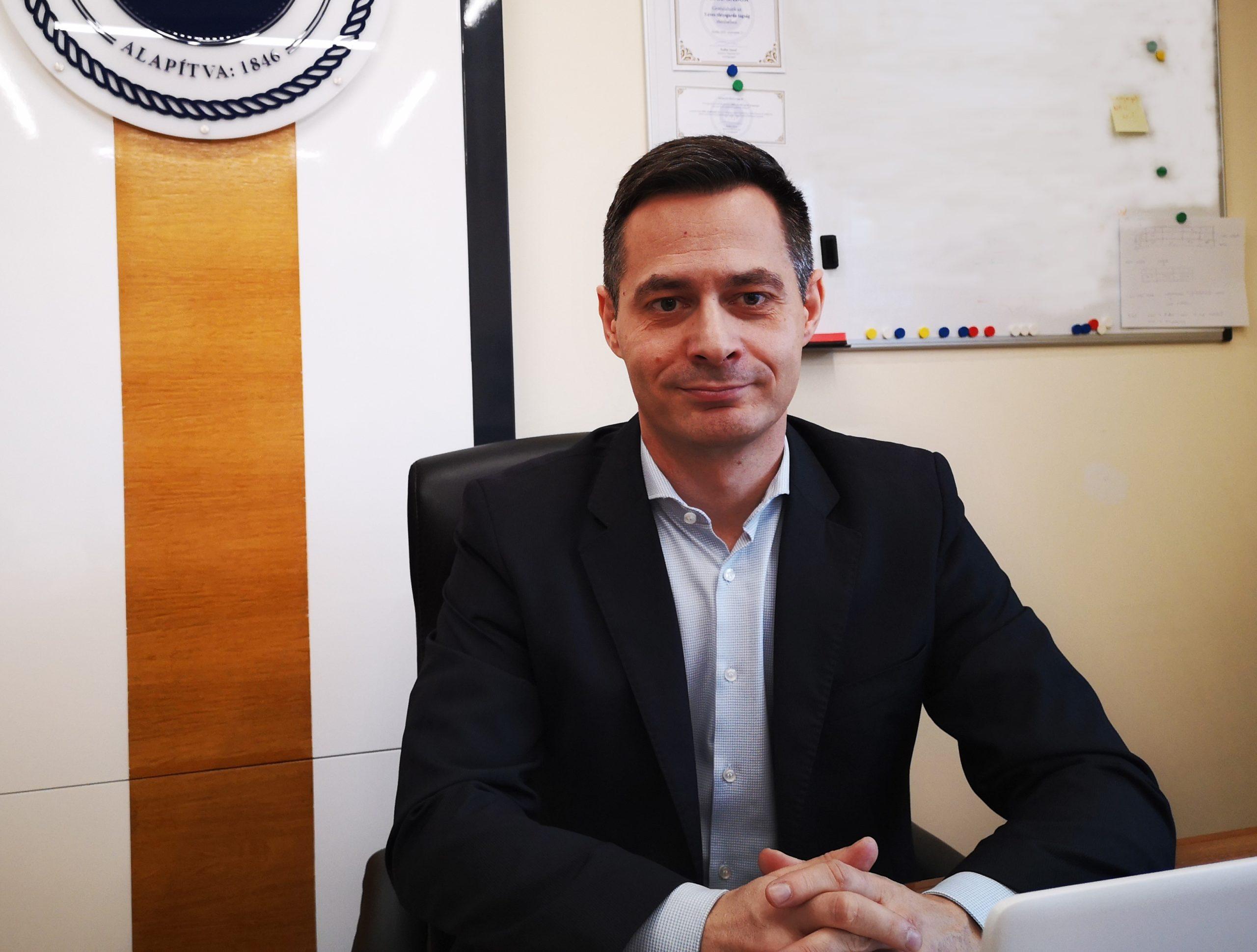 Veigl Gábor, vezérigazgató, BAHART Fotó: Krausz Andrea