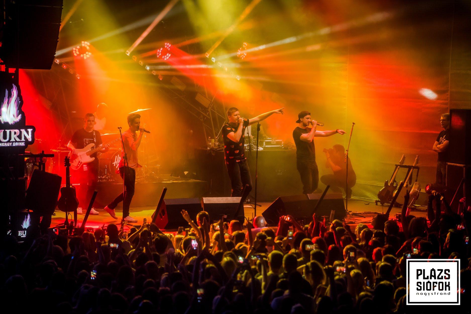 Halott Pénz koncert a siófoki Plázson Fotó: Plázs hivatalos