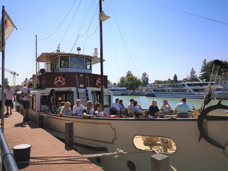 Kelén hajó Siófokon Fotó: Krausz Andrea